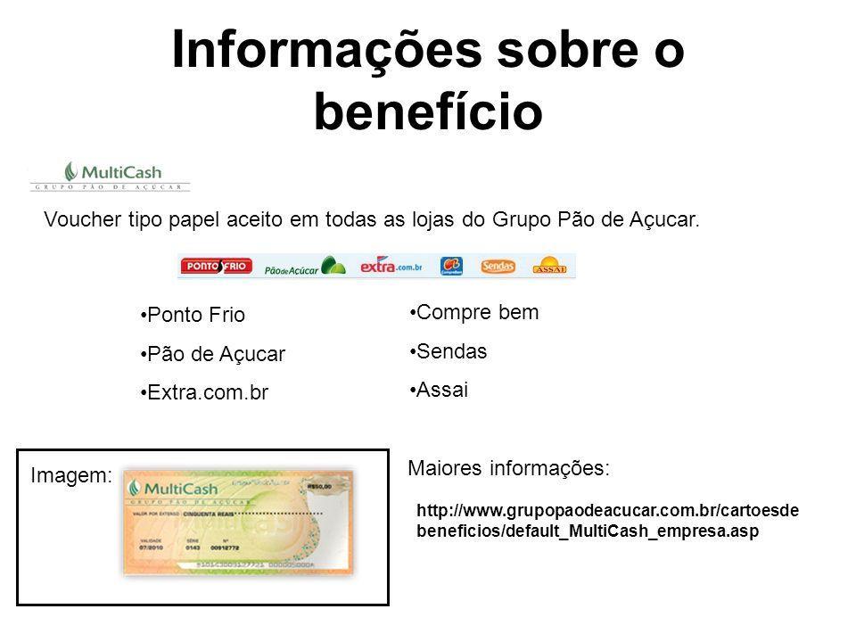 Informações sobre o benefício