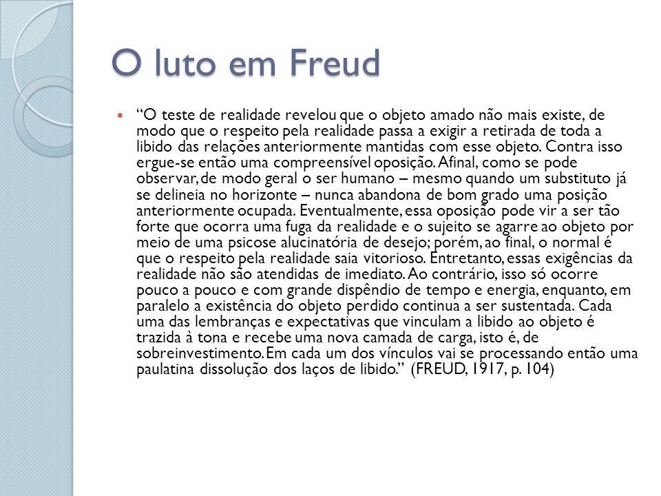 O luto em Freud