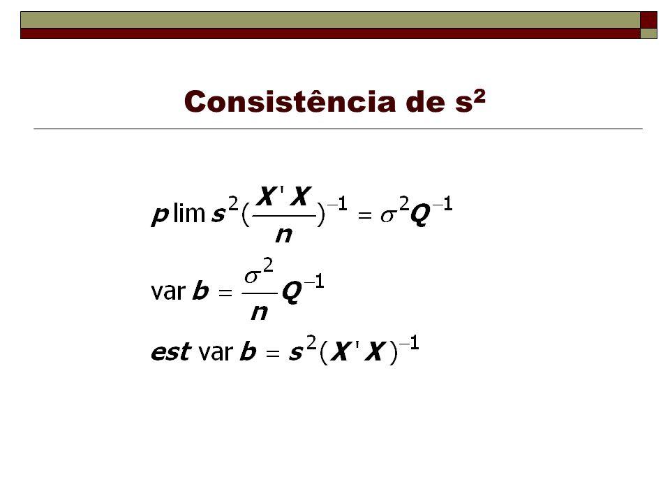 Consistência de s2