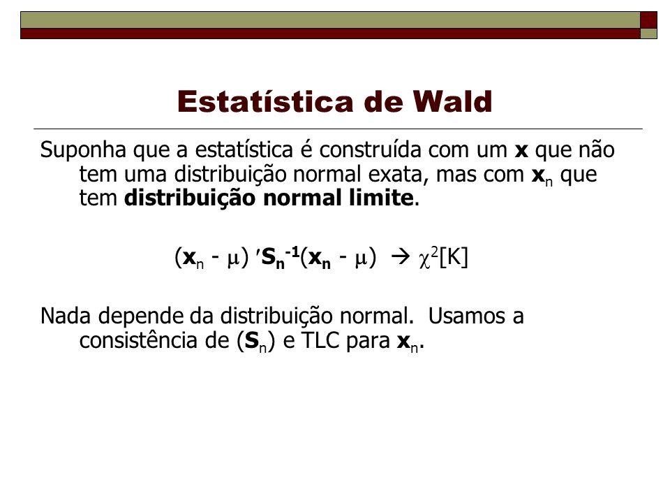 Estatística de Wald