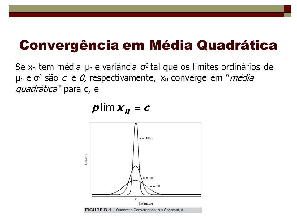 Convergência em Média Quadrática