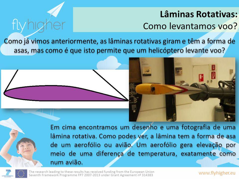 Lâminas Rotativas: Como levantamos voo