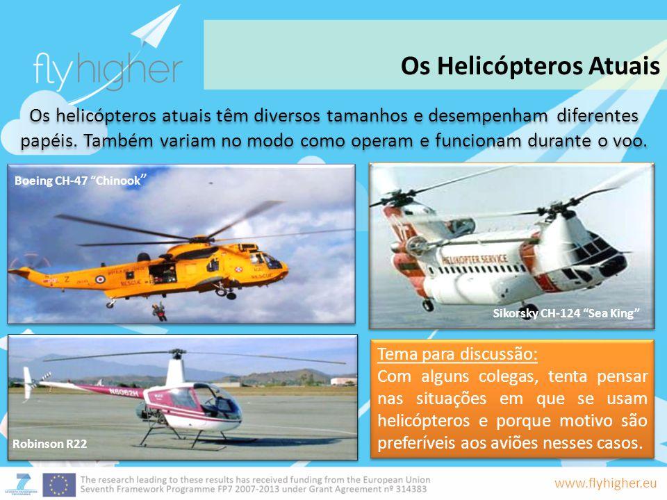 Os Helicópteros Atuais