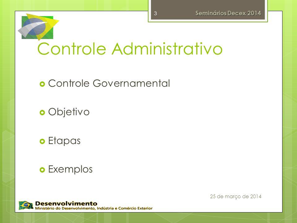 Controle Administrativo
