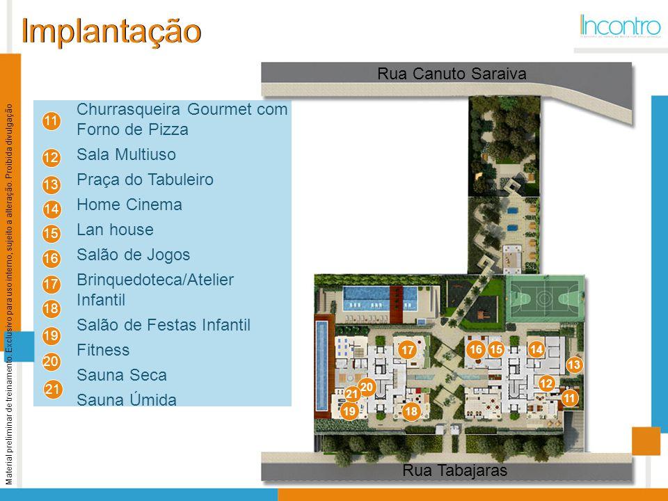 Implantação Rua Canuto Saraiva