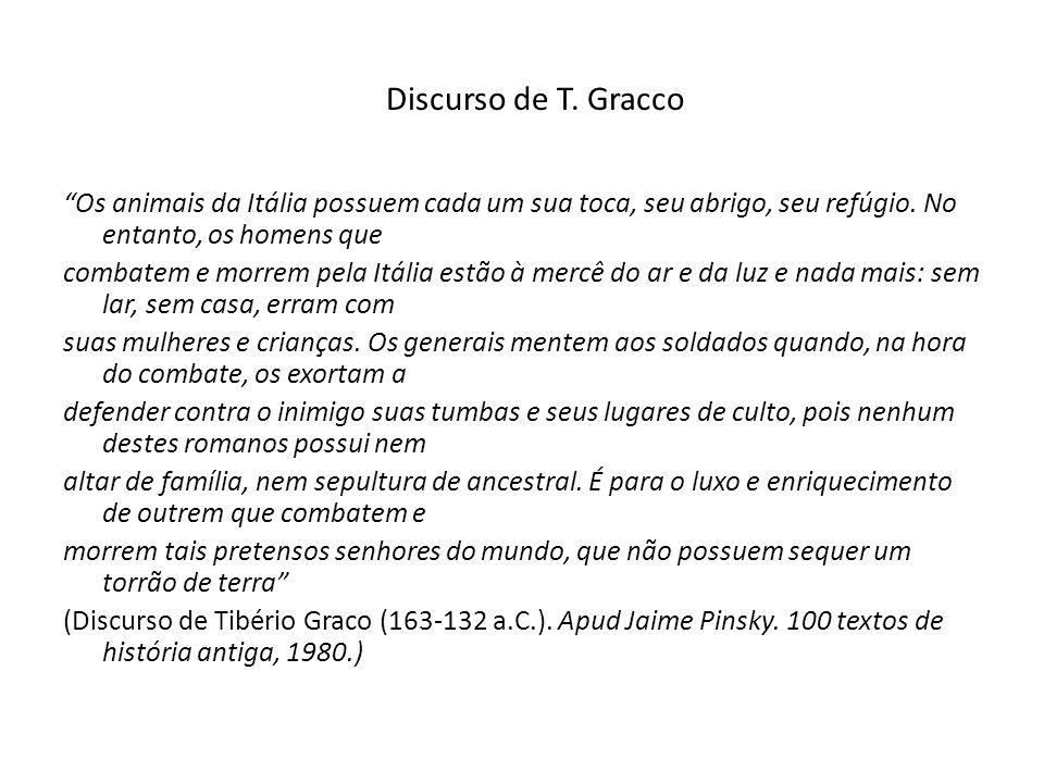 Discurso de T. Gracco