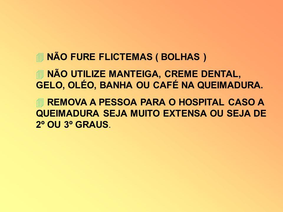 NÃO FURE FLICTEMAS ( BOLHAS )