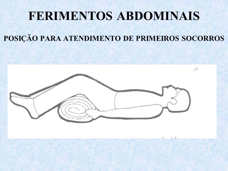 FERIMENTOS ABDOMINAIS