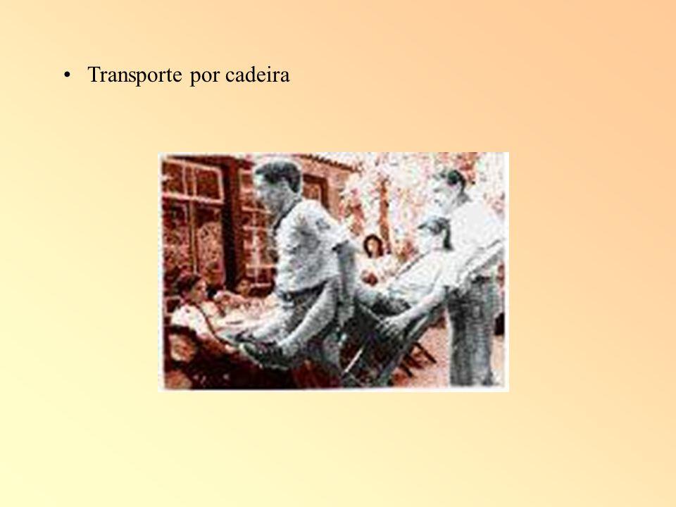 Transporte por cadeira