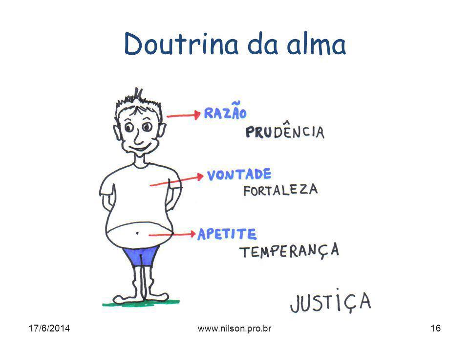 Doutrina da alma 02/04/2017 www.nilson.pro.br