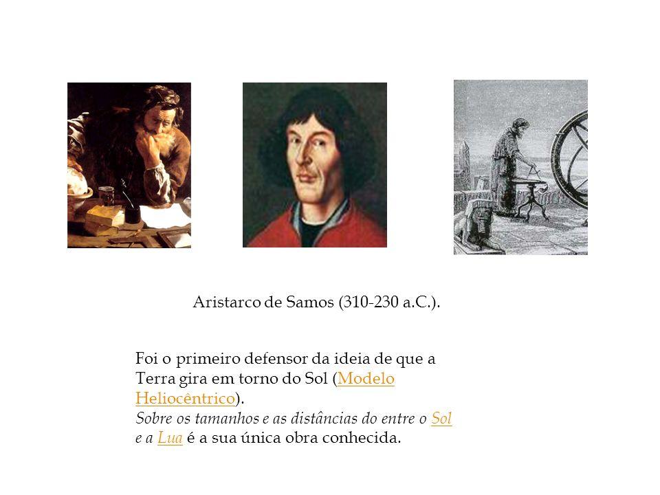 Aristarco de Samos (310-230 a.C.).