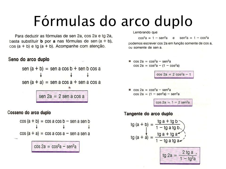 Fórmulas do arco duplo