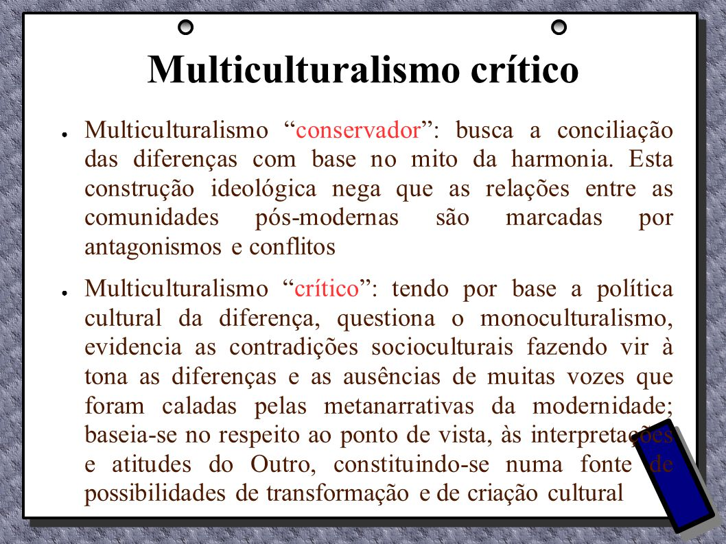 Multiculturalismo crítico