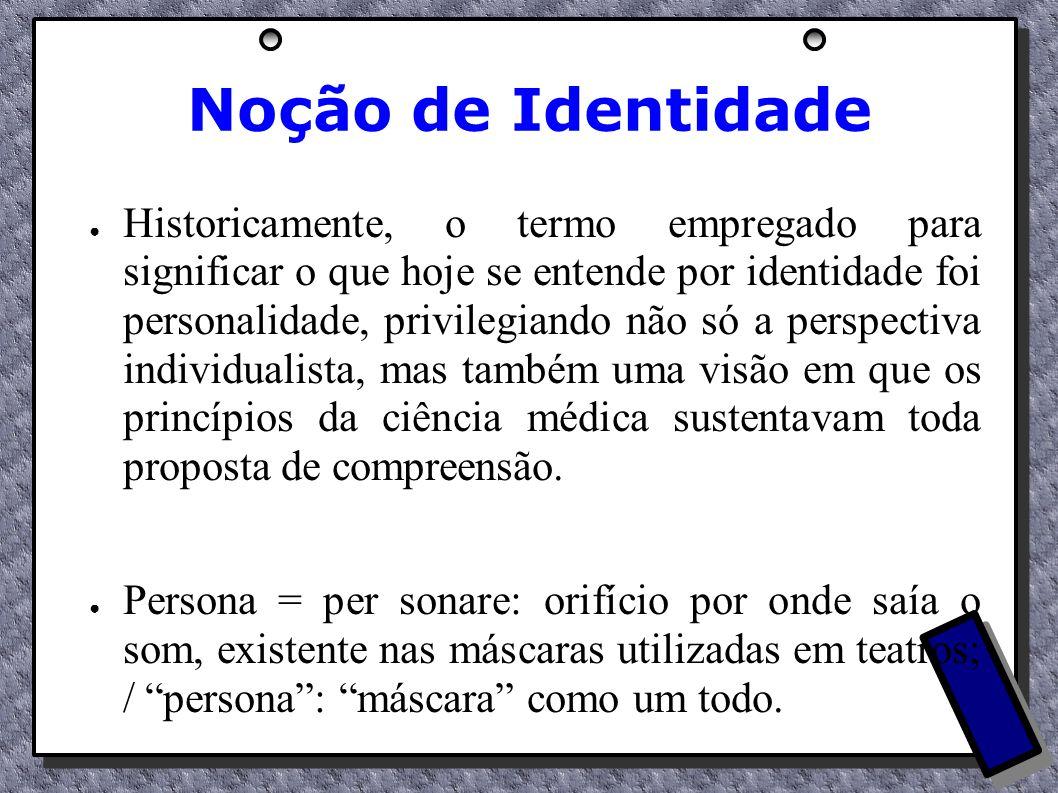 Noção de Identidade