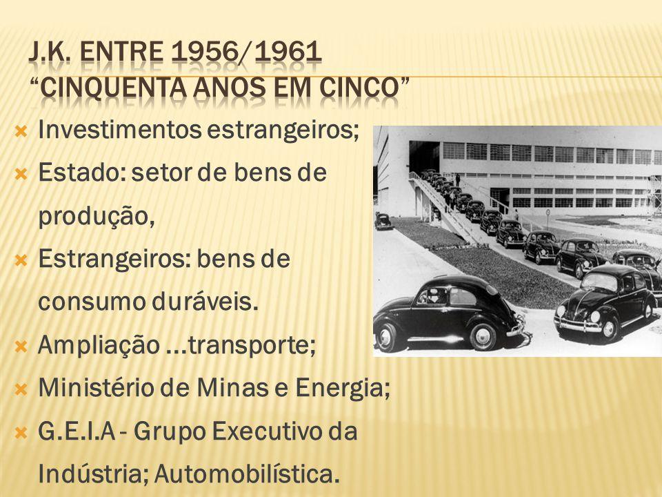 j.K. entre 1956/1961 cinquenta anos em cinco
