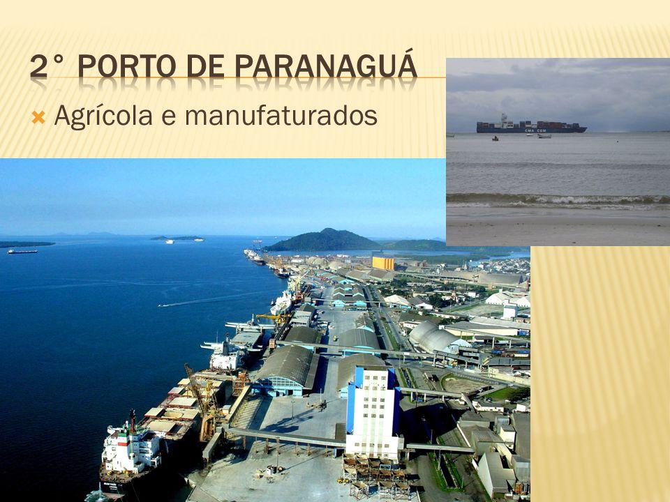 2° Porto de Paranaguá Agrícola e manufaturados