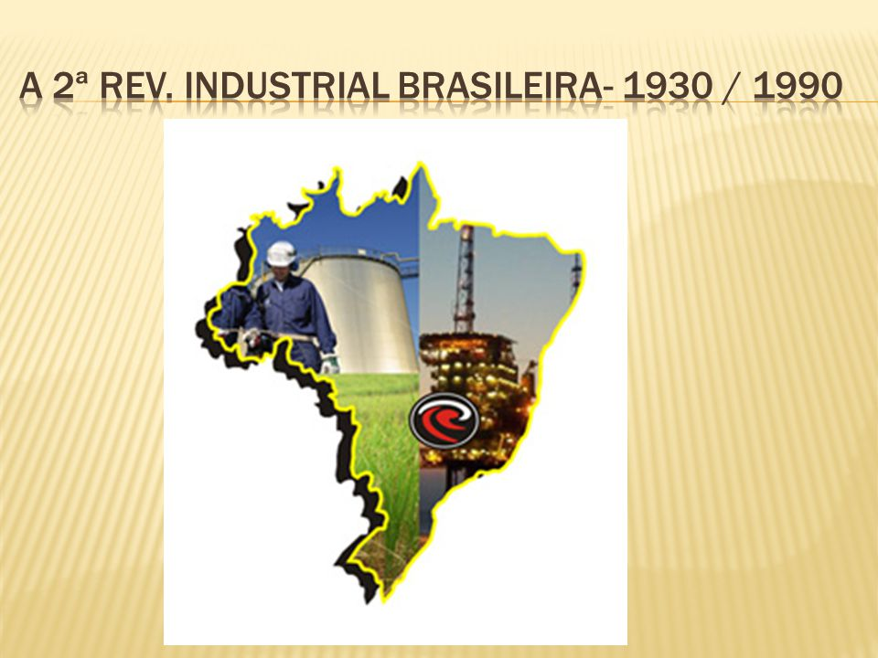 A 2ª rev. Industrial brasileira- 1930 / 1990