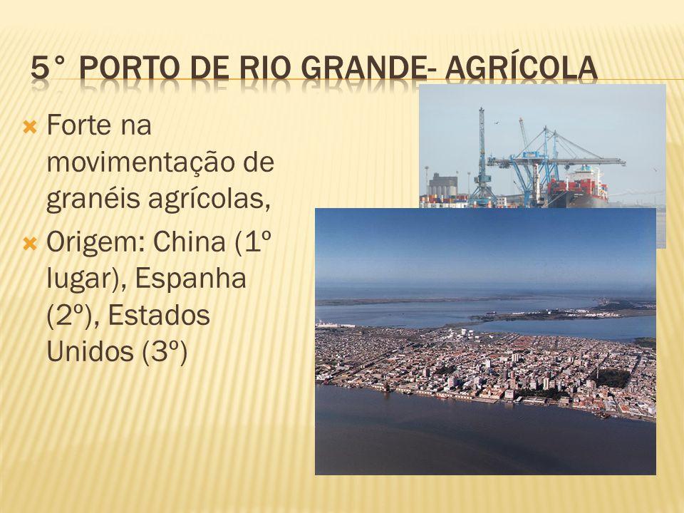 5° Porto de Rio Grande- agrícola