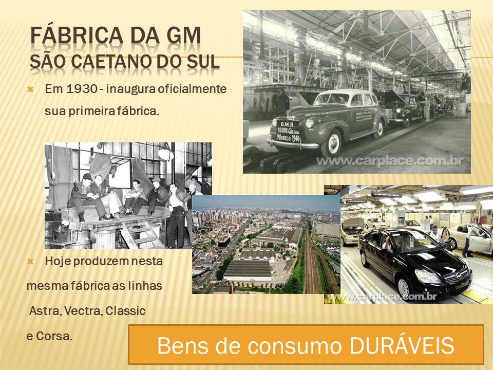 Fábrica da GM São Caetano do Sul