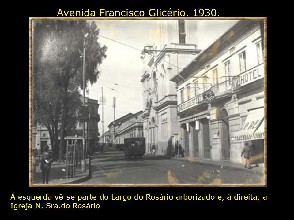 Avenida Francisco Glicério. 1930.