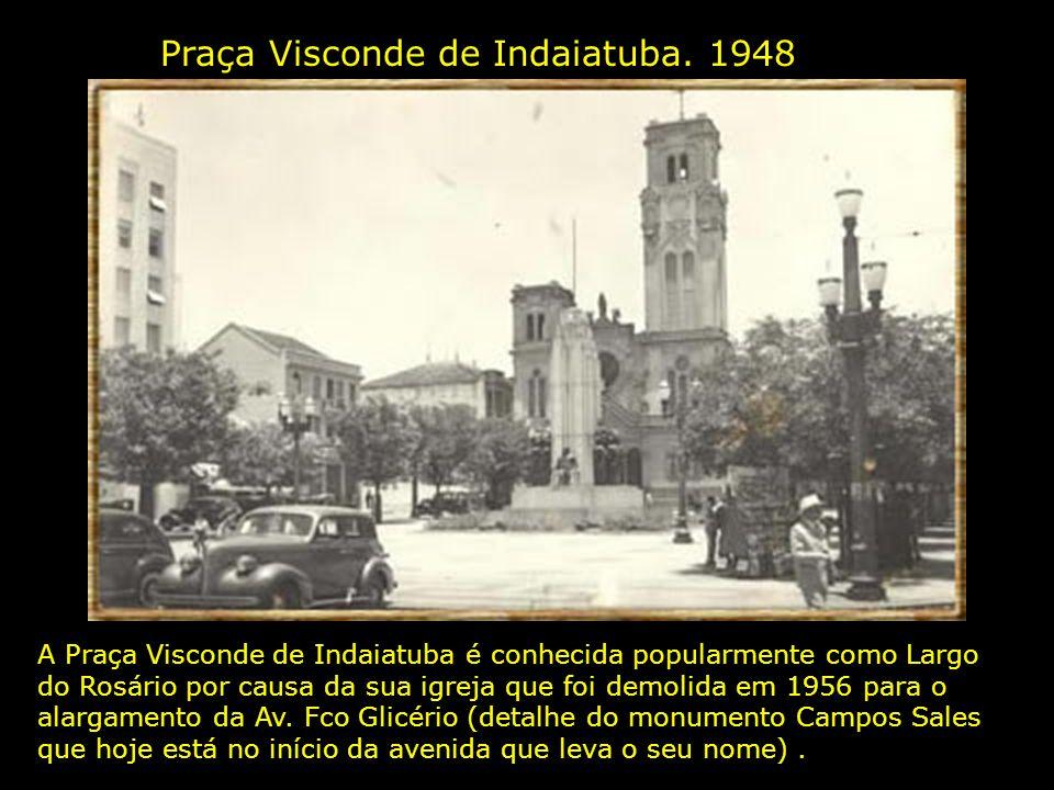 Praça Visconde de Indaiatuba. 1948