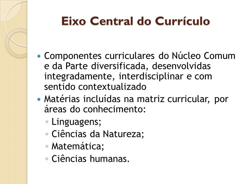 Eixo Central do Currículo