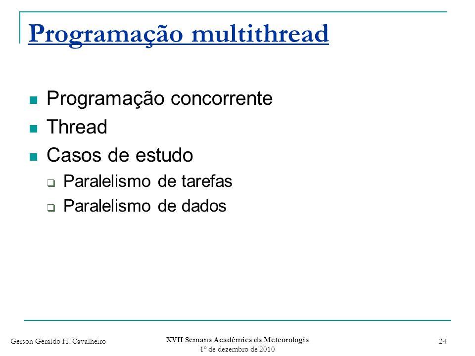 Programação multithread