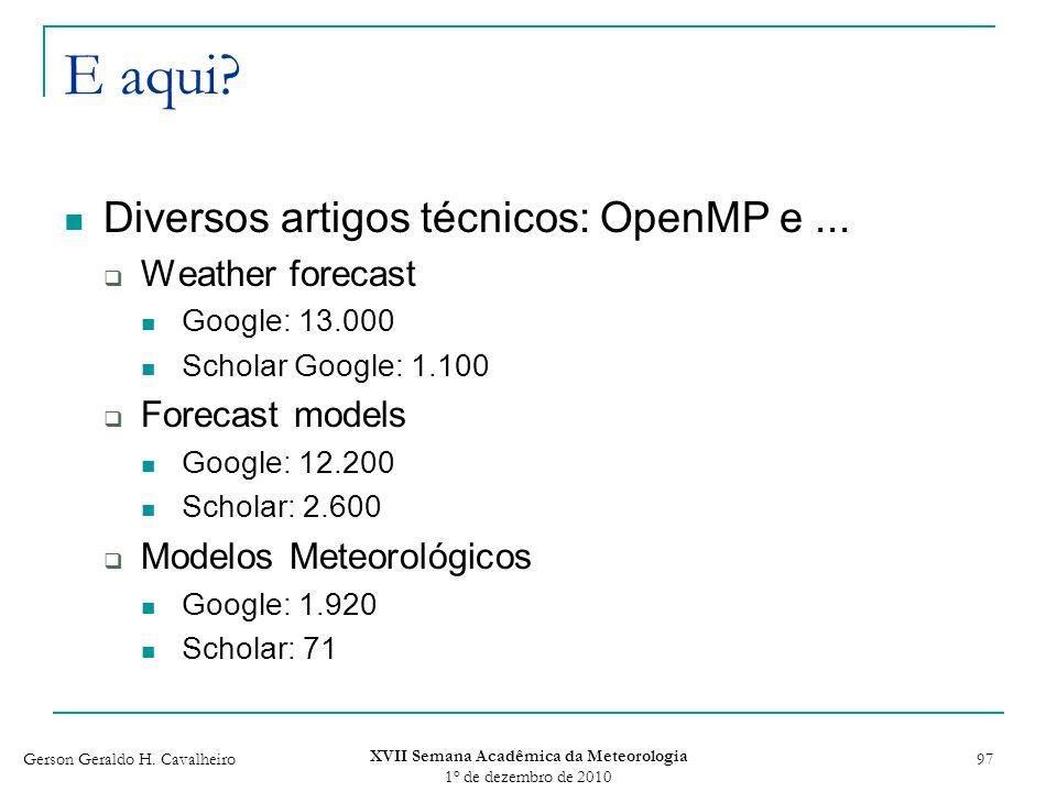 XVII Semana Acadêmica da Meteorologia