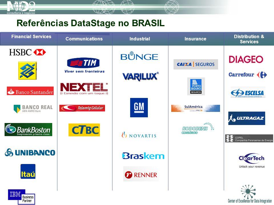 Referências DataStage no BRASIL