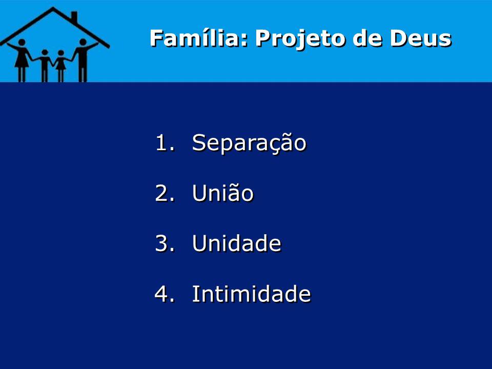 Família: Projeto de Deus