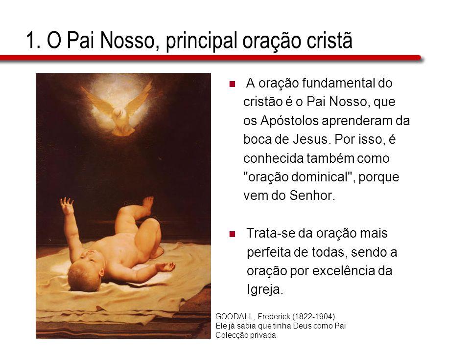 1. O Pai Nosso, principal oração cristã