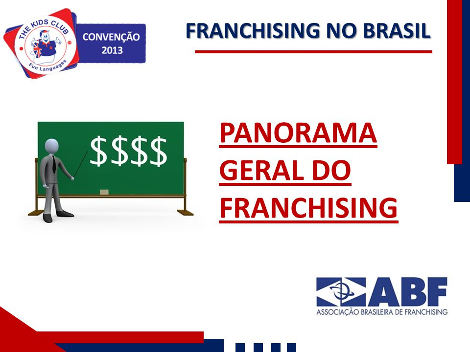 PANORAMA GERAL DO FRANCHISING