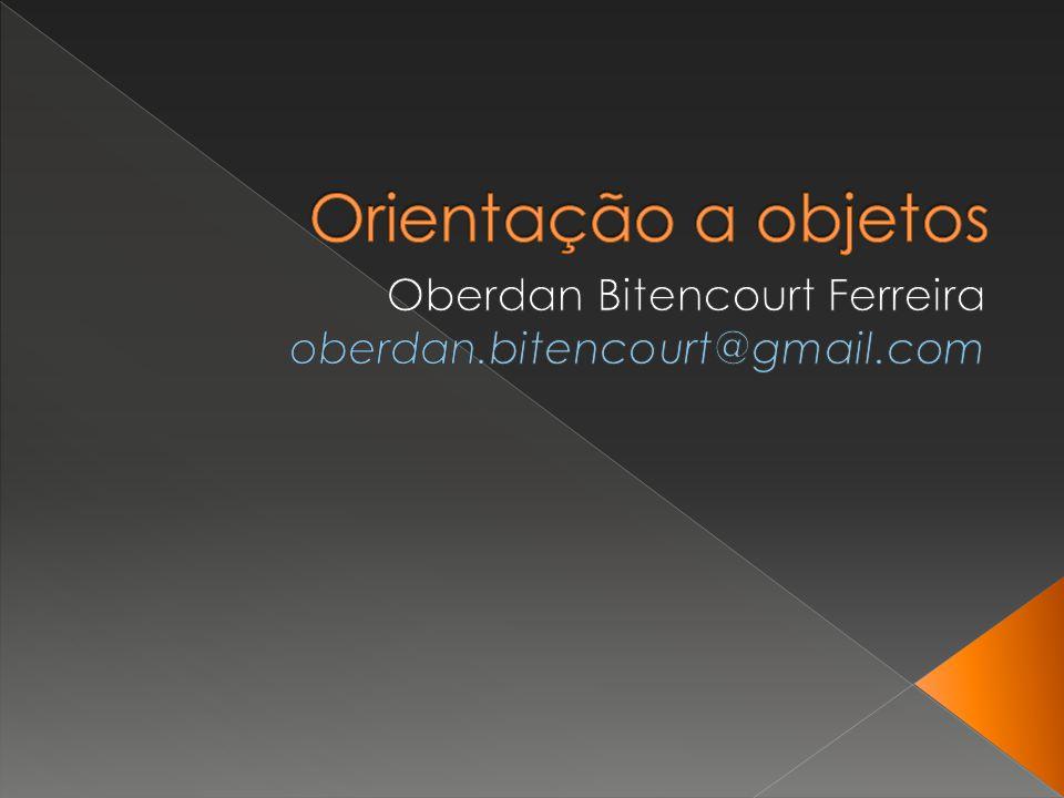 Oberdan Bitencourt Ferreira oberdan.bitencourt@gmail.com