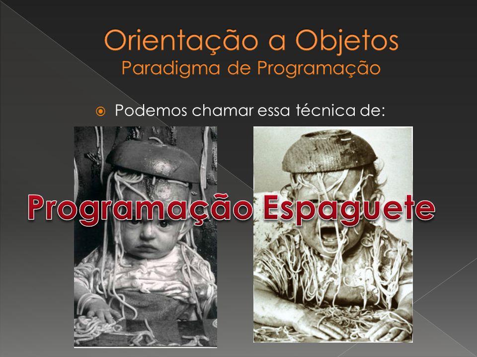 Orientação a Objetos Paradigma de Programação