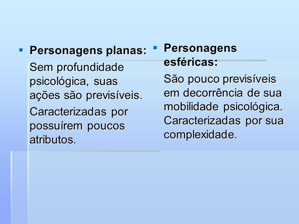 Personagens esféricas: