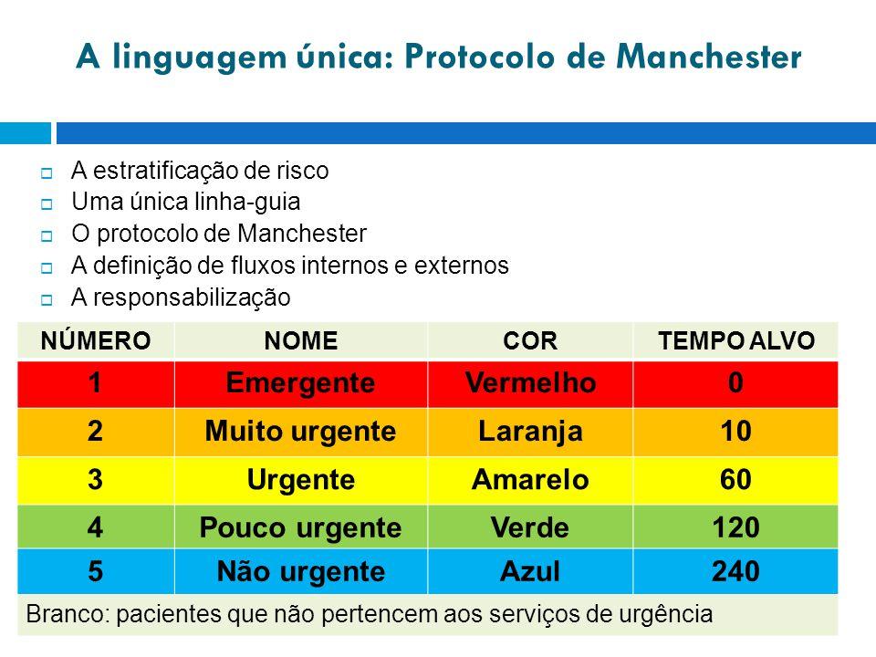 A linguagem única: Protocolo de Manchester