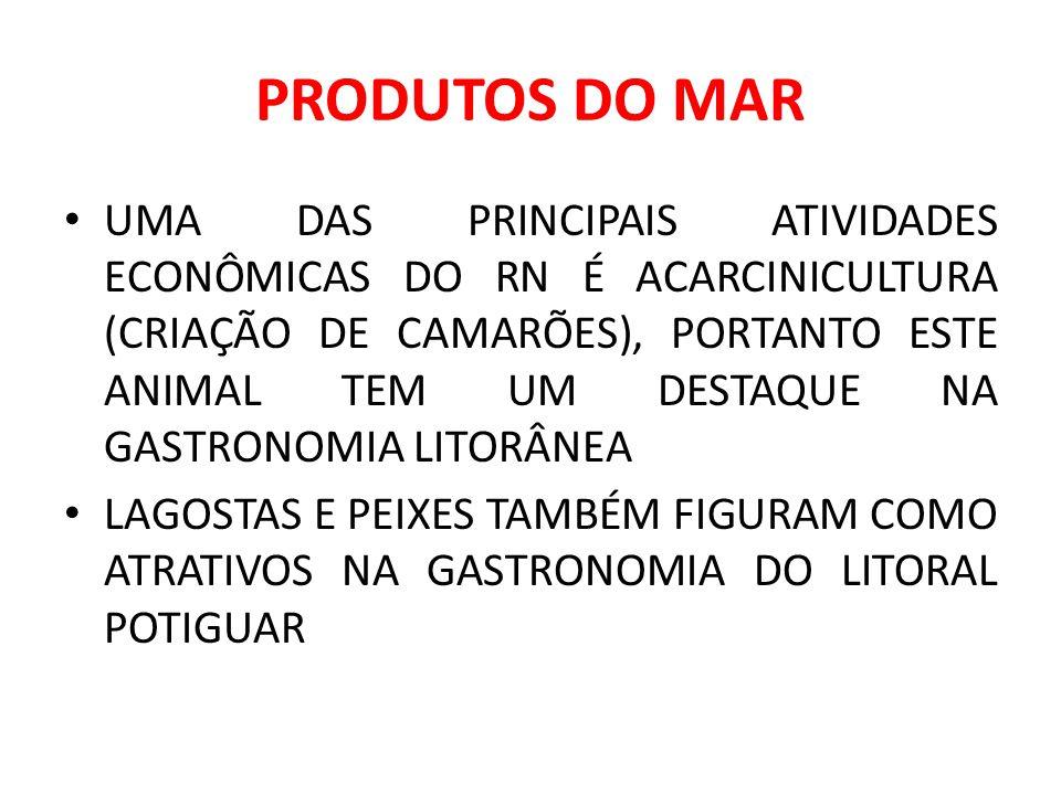 PRODUTOS DO MAR
