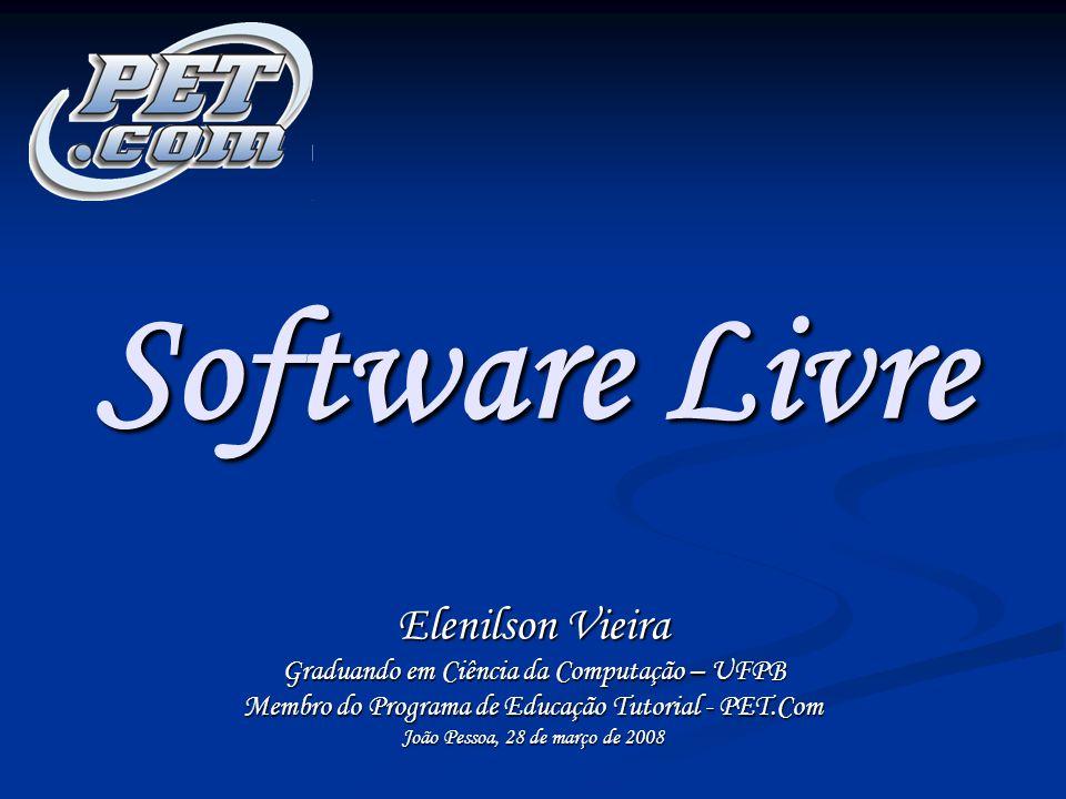 Software Livre Elenilson Vieira