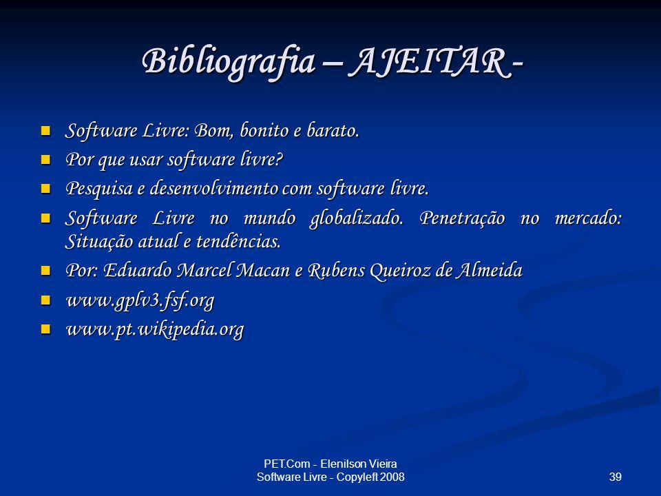 Bibliografia – AJEITAR -