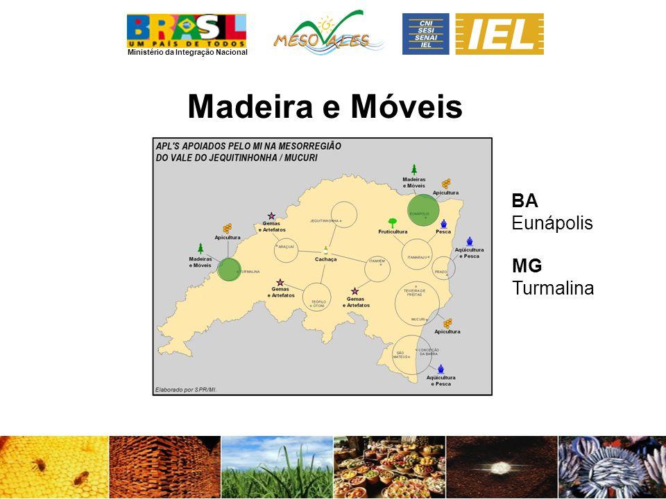 Madeira e Móveis BA Eunápolis MG Turmalina
