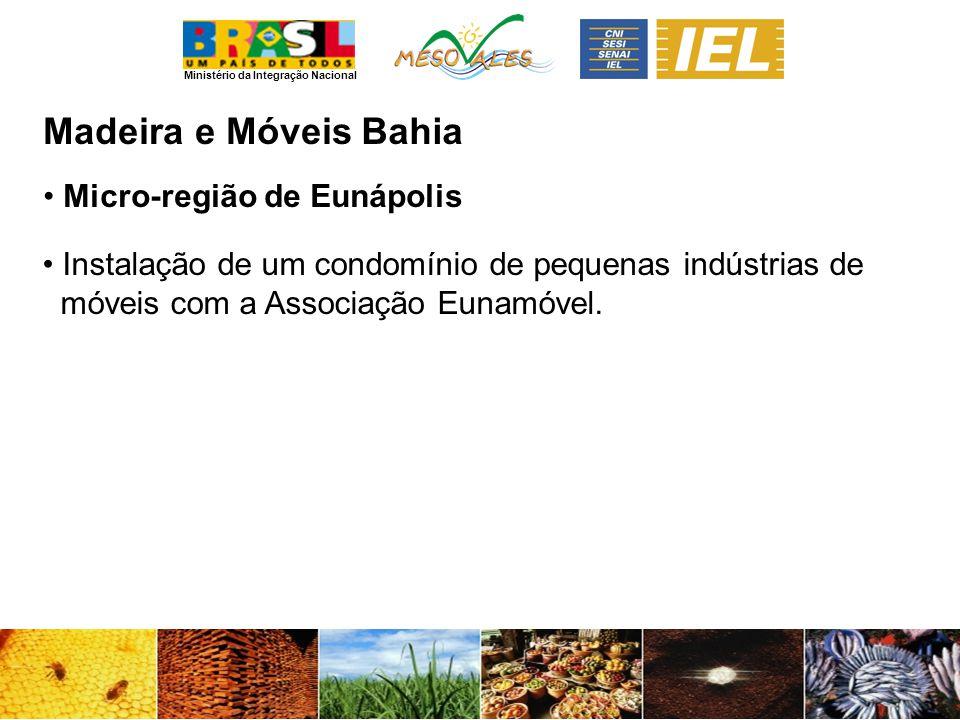 Madeira e Móveis Bahia Micro-região de Eunápolis