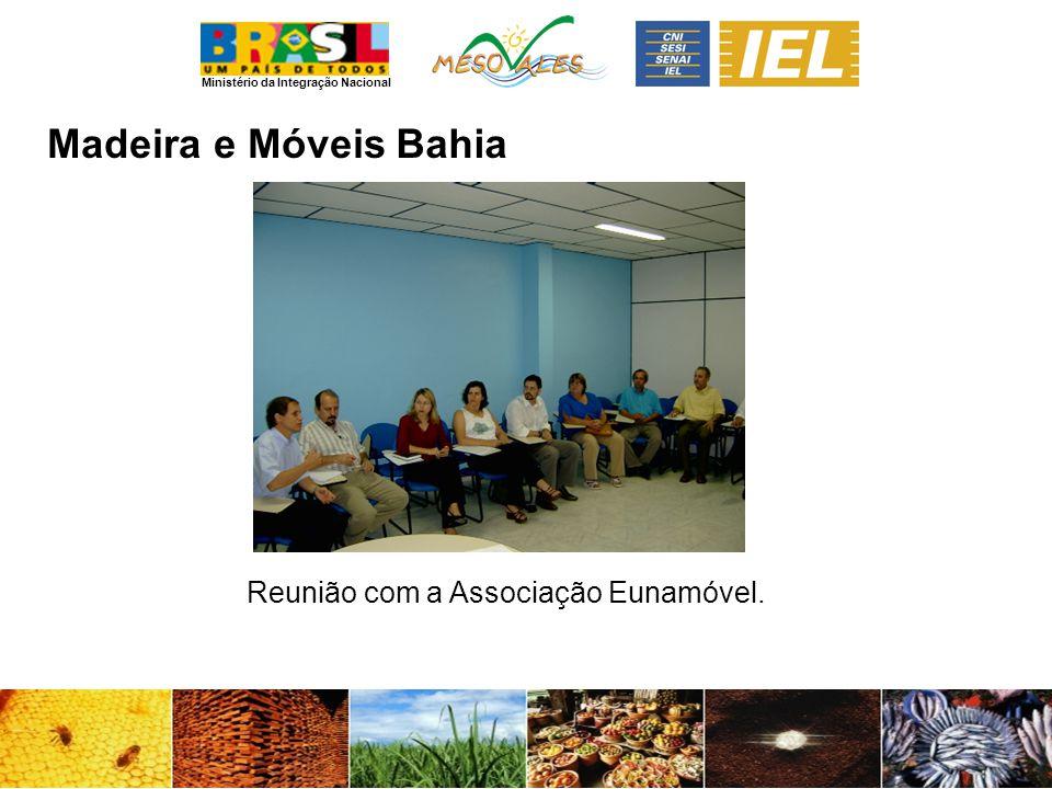 Madeira e Móveis Bahia Reunião com a Associação Eunamóvel.