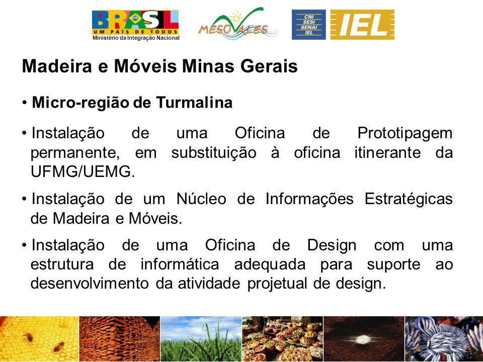 Madeira e Móveis Minas Gerais Micro-região de Turmalina