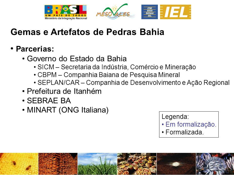 Gemas e Artefatos de Pedras Bahia