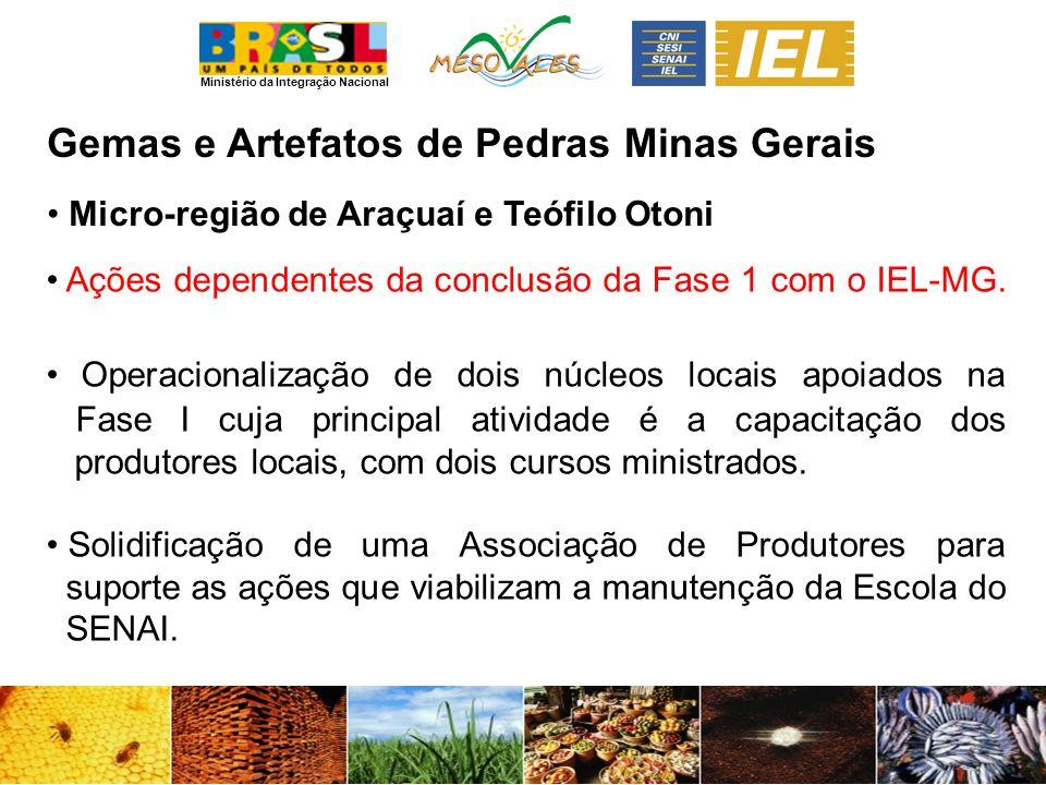 Gemas e Artefatos de Pedras Minas Gerais