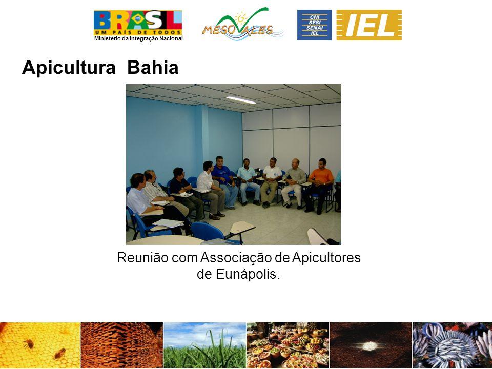 Reunião com Associação de Apicultores de Eunápolis.