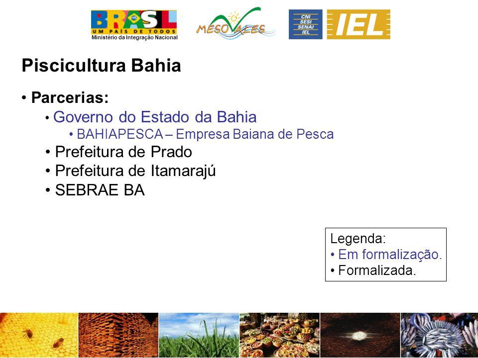 Piscicultura Bahia Parcerias: Prefeitura de Prado