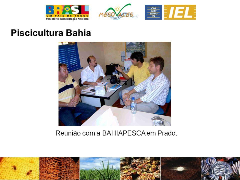 Reunião com a BAHIAPESCA em Prado.
