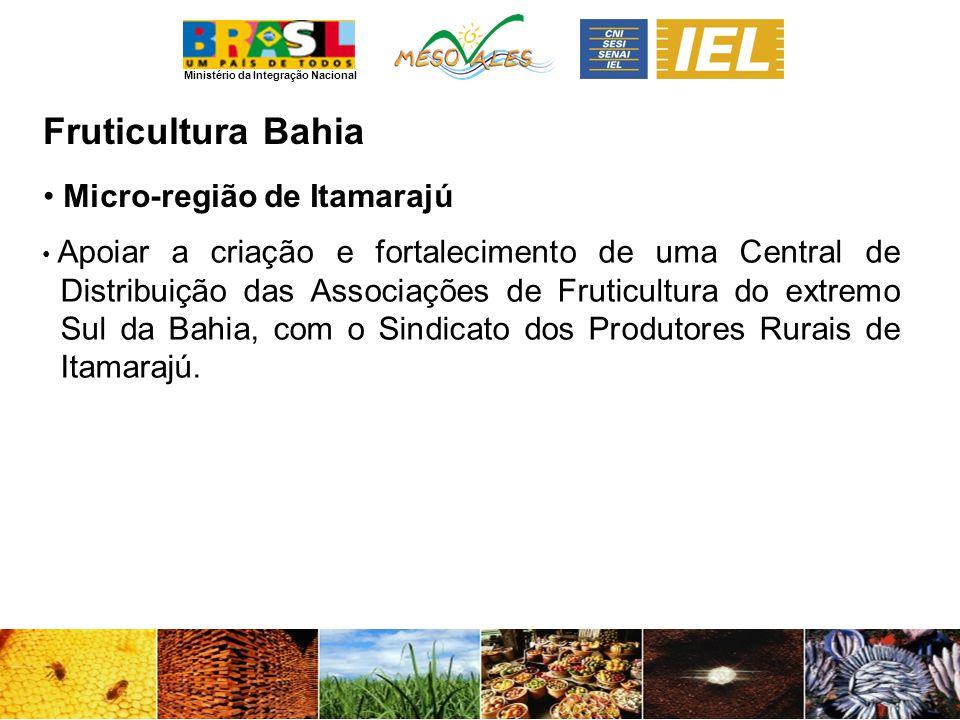 Fruticultura Bahia Micro-região de Itamarajú