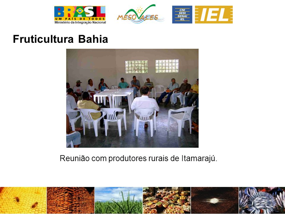 Reunião com produtores rurais de Itamarajú.
